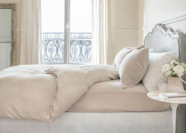 La Chambre Paris natural washed linen bedding set