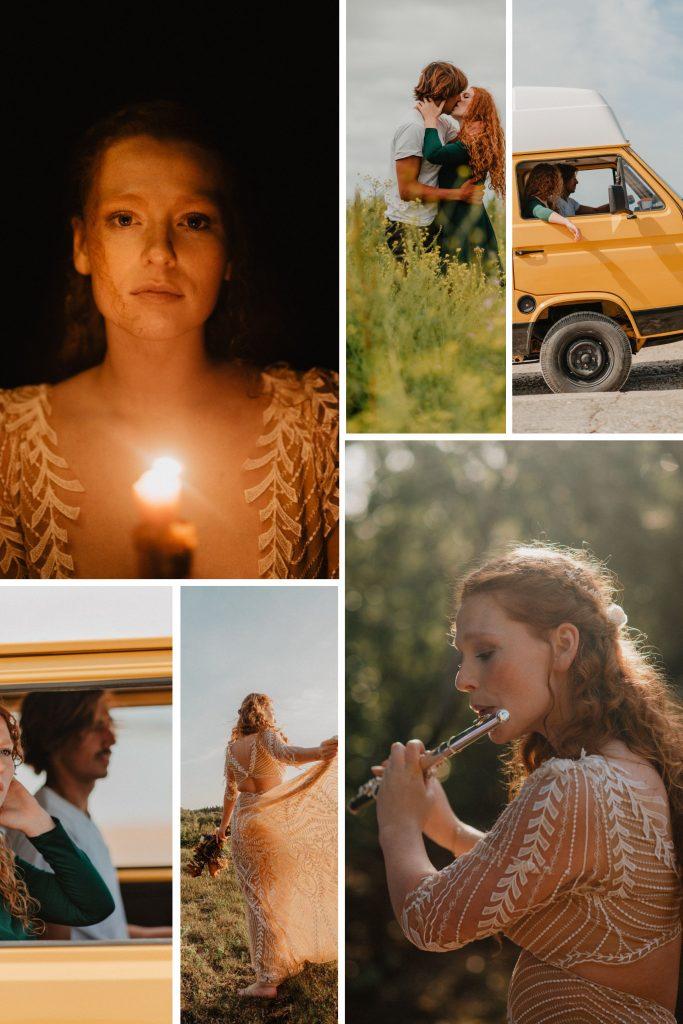 The Perfect Road Trip: A Wedding In Ile de Ré Collage